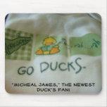 ¡La fan del pato! Nuevos nombres del personalizado Alfombrillas De Ratón