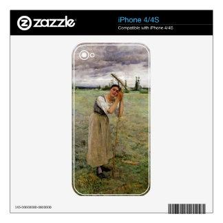 La Faneuse au repos Skin For The iPhone 4S