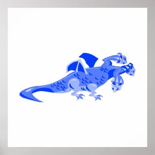 La fantasía 3 dirigió el dragón póster