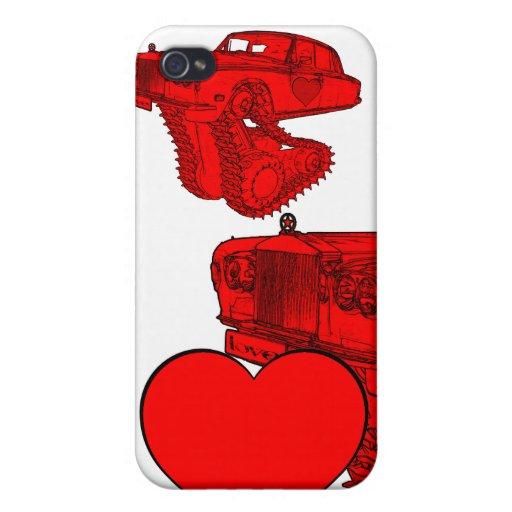 La fantasía de la tarjeta del día de San Valentín  iPhone 4 Coberturas