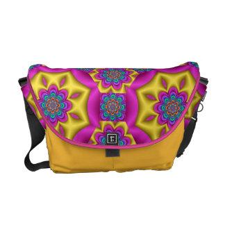la fantasía de moda florece la bolsa de mensajero  bolsas de mensajería