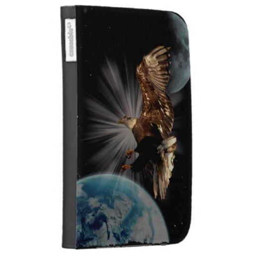 La fantasía del espacio exterior de Eagle calvo en