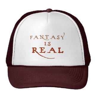 La fantasía es gorra real