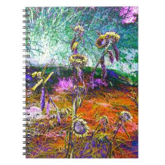 La fantasía florece 1 cuaderno
