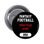 La fantasía se divierte - su nombre del equipo - e pin