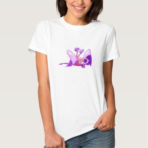 La fantasía tres dirigió el dragón púrpura playera