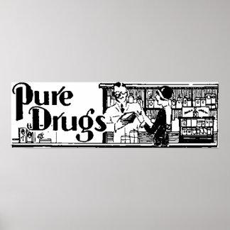 La farmacia pura 1 de las drogas impresiones