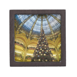 La Fayette en el navidad, París, Francia de Galeri Cajas De Joyas De Calidad