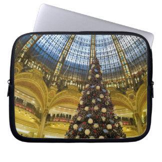 La Fayette en el navidad, París, Francia de Galeri Funda Portátil
