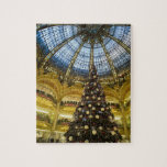 La Fayette en el navidad, París, Francia de Galeri Rompecabeza Con Fotos