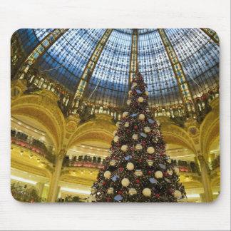 La Fayette en el navidad, París, Francia de Galeri Tapetes De Raton