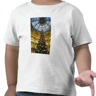 La Fayette en el navidad, París, Francia de Camisetas