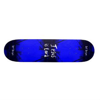 La fe cristiana Jesús es señor Skateboard Monopatines Personalizados