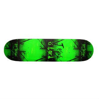 La fe cristiana Jesús es señor Skateboard Patín Personalizado