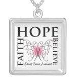 La fe de la esperanza cree al cáncer de pecho joyerías