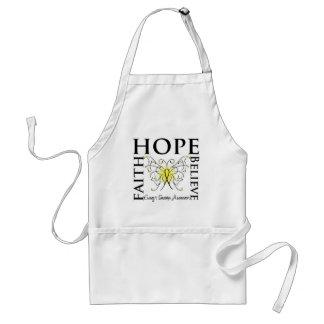 La fe de la esperanza cree la mariposa - sarcoma d delantales