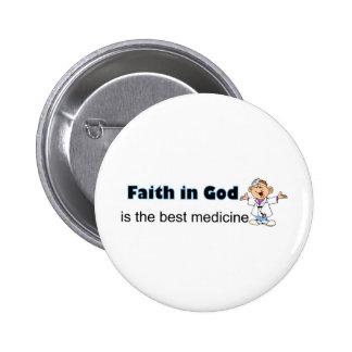 La fe en dios es la mejor medicina con el doctor pins