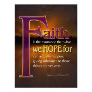 La fe es poster