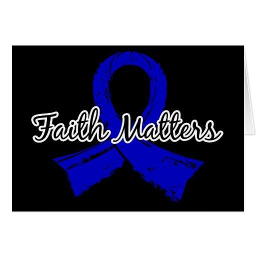 La fe importa 5 Spondylitis Ankylosing Tarjetón