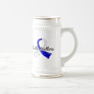 La fe importa ALS 5 Jarra De Cerveza