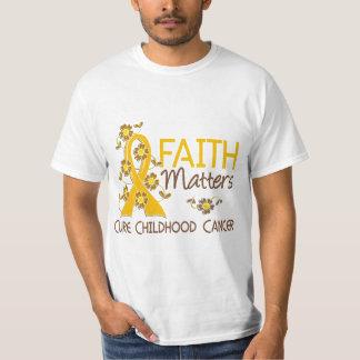 La fe importa cáncer de 3 niñeces playera