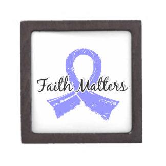 La fe importa cáncer de próstata 5 caja de regalo de calidad