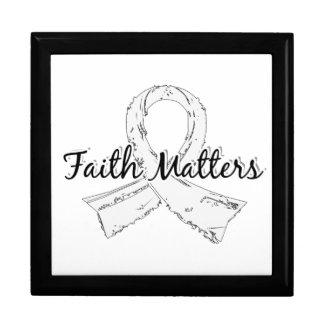 La fe importa cáncer de pulmón 5 caja de joyas