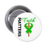 La fe importa cáncer del riñón pin