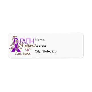 La fe importa el lupus 3 etiqueta de remitente
