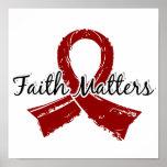 La fe importa el mieloma múltiple 5 poster