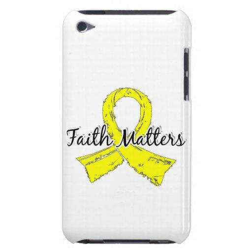 La fe importa el sarcoma 5 iPod touch Case-Mate cárcasa