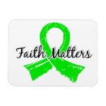 La fe importa enfermedad de 5 Lyme Imán Flexible