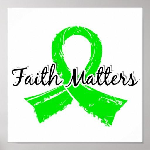 La fe importa enfermedad de 5 Lyme Posters