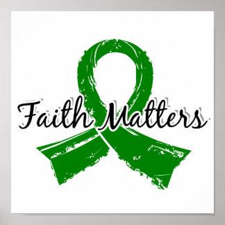 La fe importa enfermedad de riñón 5 póster