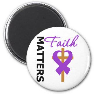La fe importa Fibromyalgia Imán Redondo 5 Cm