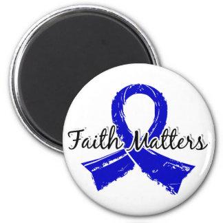 La fe importa la artritis 5 imán redondo 5 cm