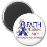 La fe importa la artritis reumatoide 3 imanes de nevera