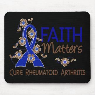 La fe importa la artritis reumatoide 3 alfombrillas de raton