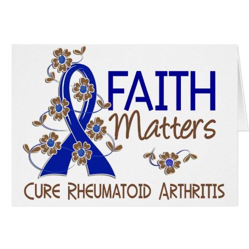 La fe importa la artritis reumatoide 3 felicitaciones