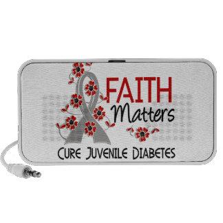 La fe importa la diabetes juvenil 3 mini altavoz