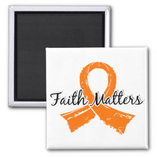 La fe importa la esclerosis múltiple 5 imán de frigorífico