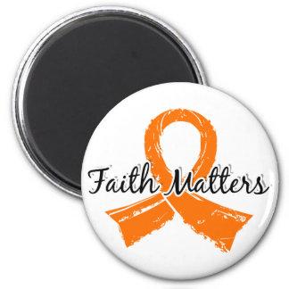 La fe importa la esclerosis múltiple 5 imán para frigorífico