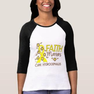 La fe importa la hidrocefalia 3 camiseta