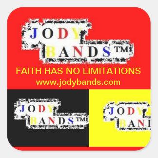 La fe no tiene ningún pegatina de las limitaciones