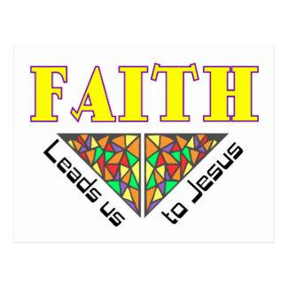La fe nos lleva a Jesús Postal