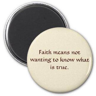 La fe significa… imán redondo 5 cm