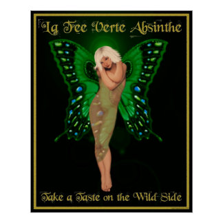 La Fee Verte Absinthe Poster