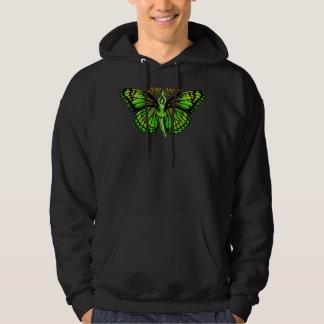 La Fee Verte With Wings Outspread Hoodie