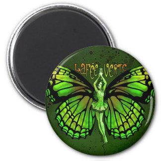 La Fee Verte With Wings Outspread Magnet