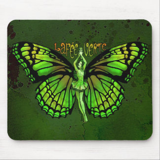 La Fee Verte With Wings Outspread Mouse Pad